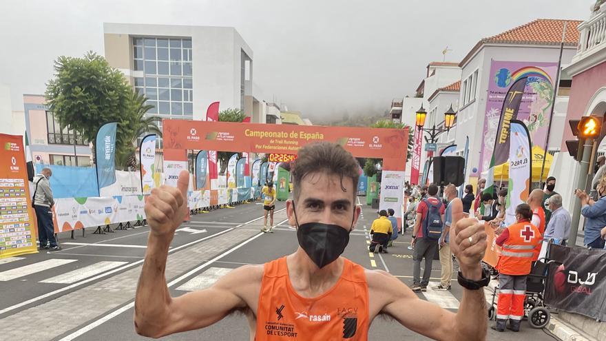 Cristóbal Adell, tercero en el Nacional de Trail Running