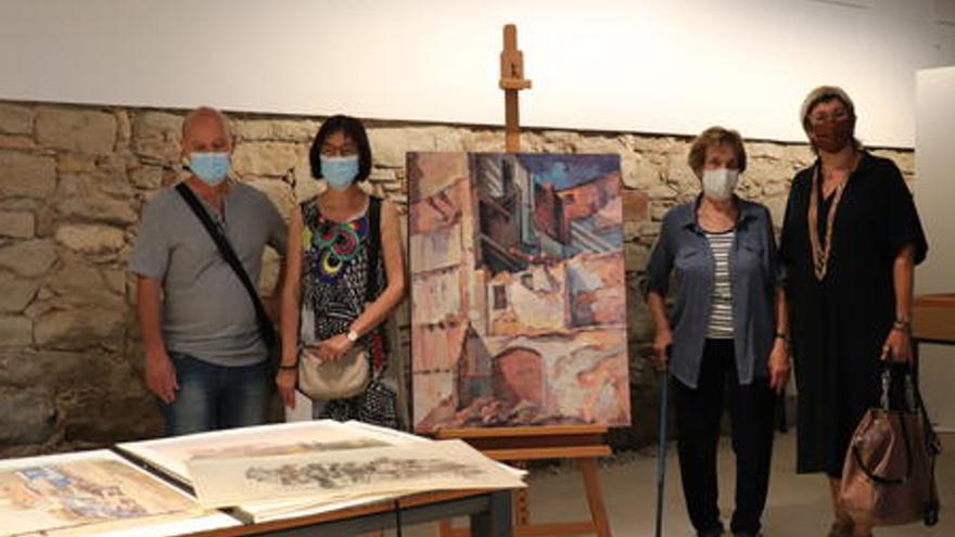 La família del pintor Jaume Casacuberta dona una seixantena d'obres de l'artista al Museu de Manresa