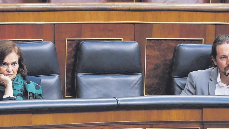 """Calvo, a Iglesias: """"España es una gran democracia. Te vas, pero no te exilias"""""""