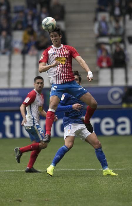 El derbi entre Oviedo y Sporting en imágenes