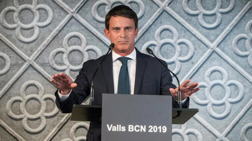 Valls, confirma la seva candidatura: «Vull ser el pròxim alcalde de Barcelona»