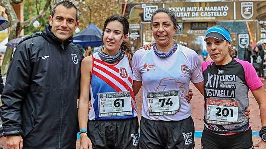 Carme Tort i Lorena Cubillas, doblet manresà a la Mitja Marató de Castelló