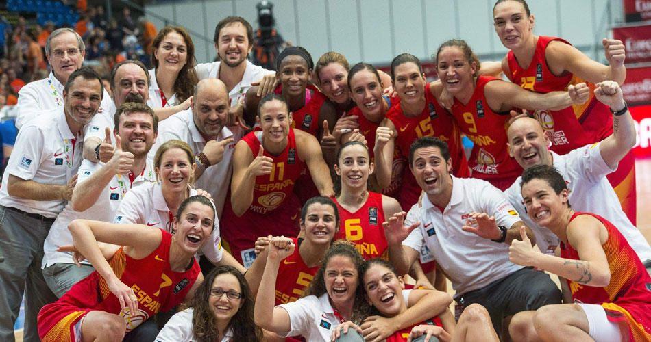Selección Femenina Baloncesto