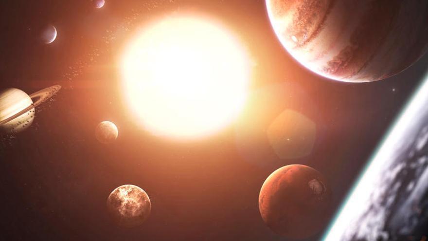 El Sistema Solar se formó en dos etapas, según un estudio