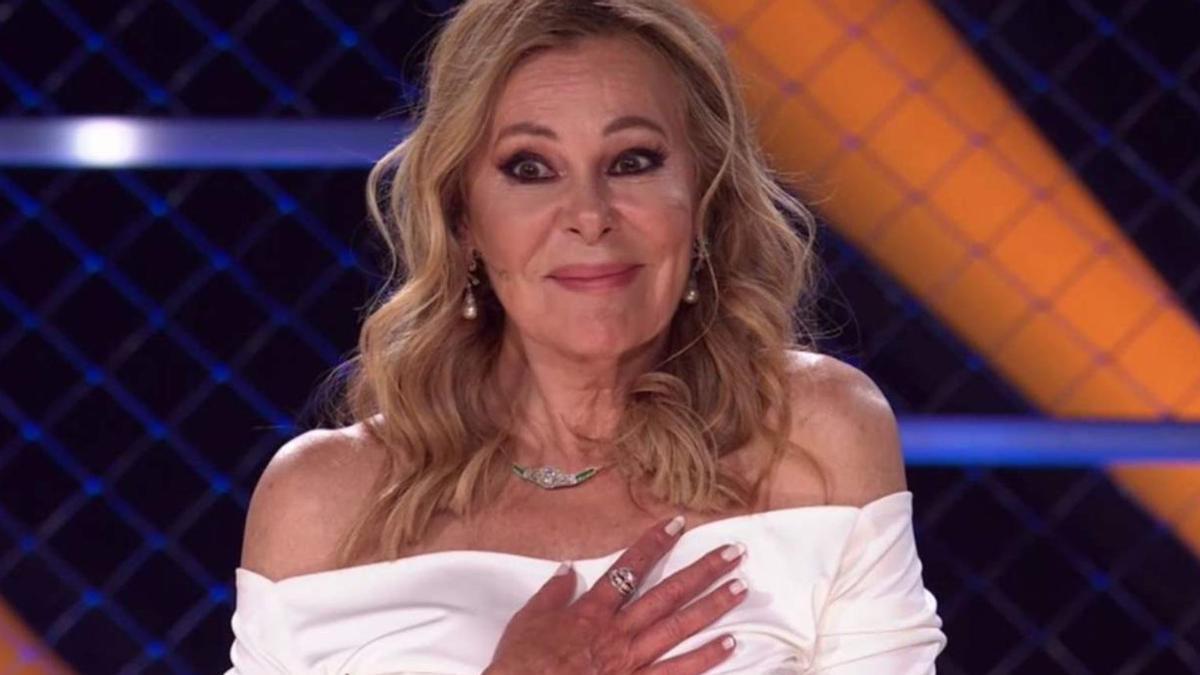 Ana Obregón reaparece en Mask Singer