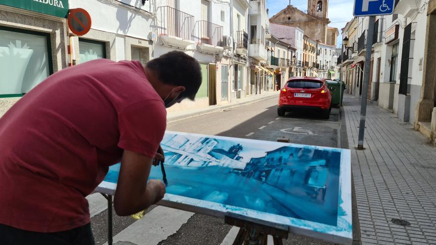San Vicente de Alcántara celebra el XVII Certamen de Pintura Rápida el 25 de septiembre
