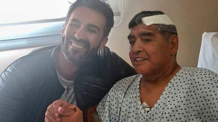 Se filtran los Whatsapp de los hijos de Maradona sobre el estado de salud de su padre