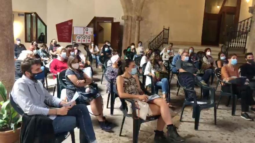 """Así fue la jornada """"La ciutat amb ulls de dona: cartografies emocionals de Palma"""", en el Casal Can Balaguer"""