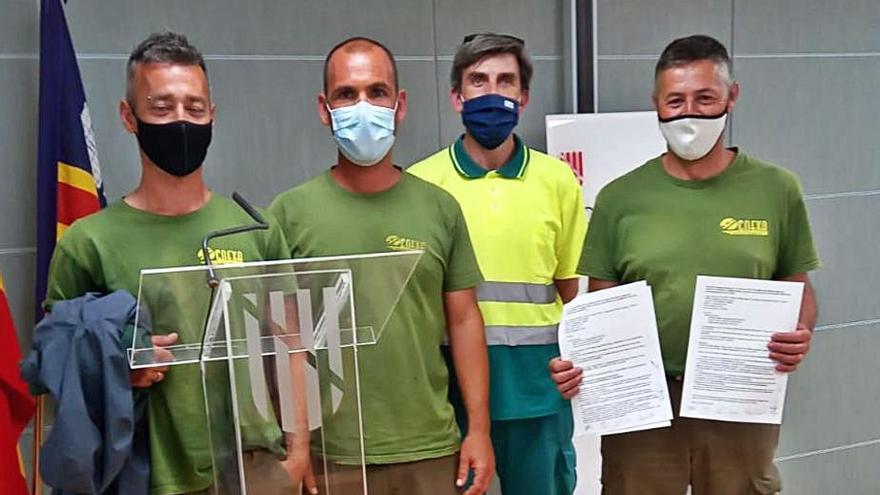Se desconvoca la huelga de jardinería y limpieza en Son Servera y Sant Llorenç