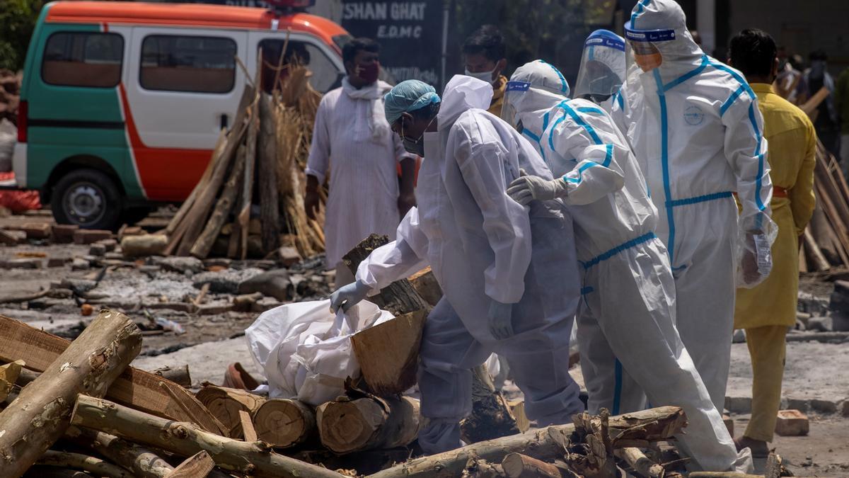 India se encuentra en una situación crítica por la pandemia.