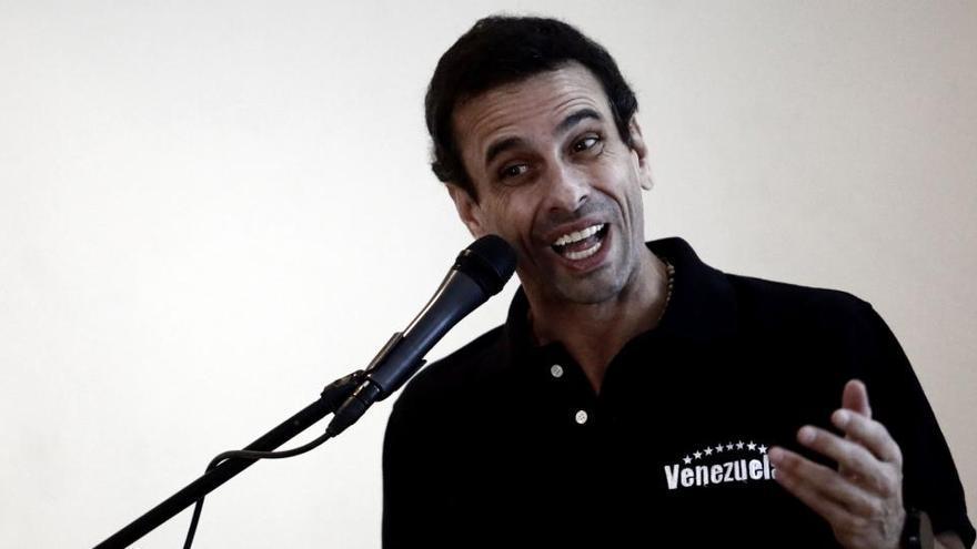 """Capriles rompe con Guaidó: """"Voy a luchar, no me voy a quedar de brazos cruzados"""""""