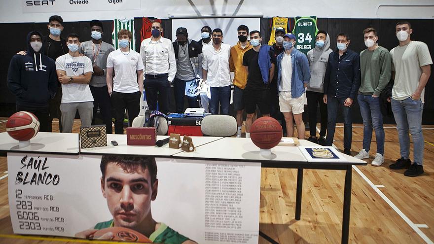 Las razones del adiós de Saúl Blanco, el más grande del baloncesto asturiano