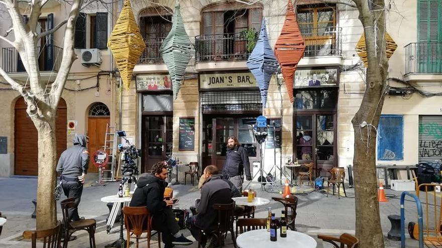 La BBC graba en el barrio Sa Gerreria de Palma