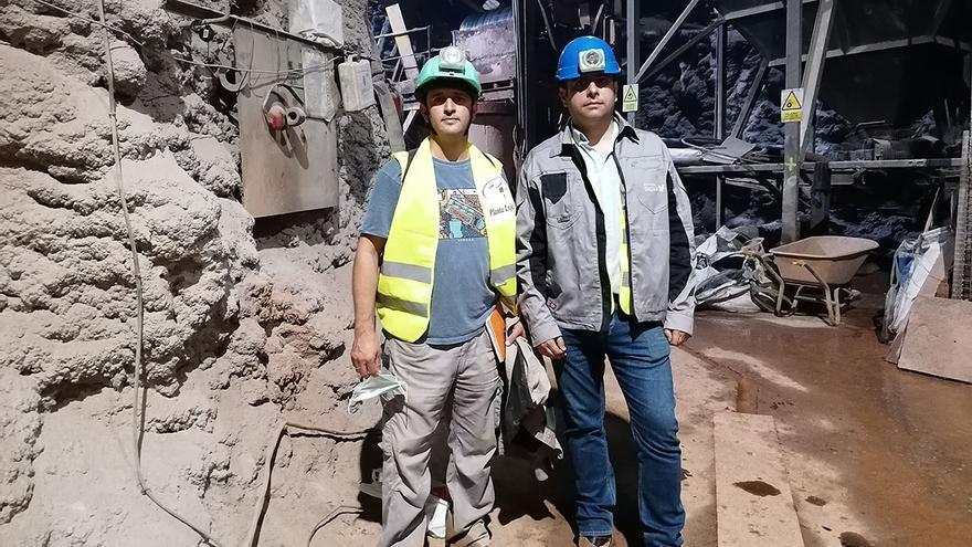 La ULL elabora un protocolo de detección de radón en una empresa minera de Granada