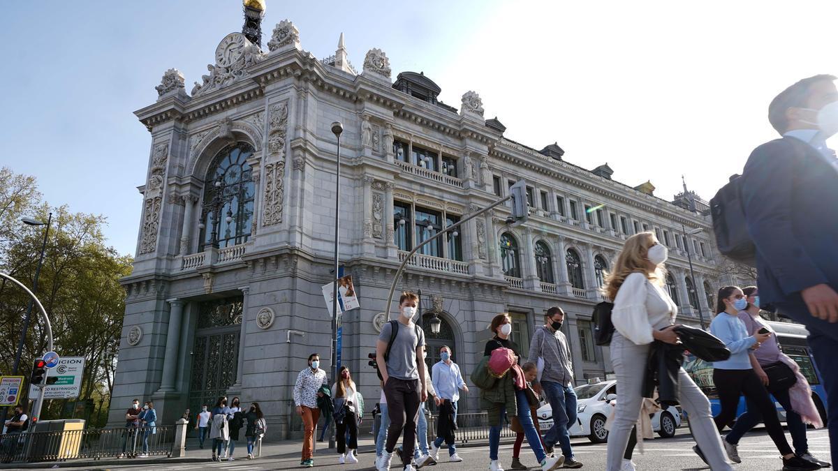 Una imagen de la sede del Banco de España.