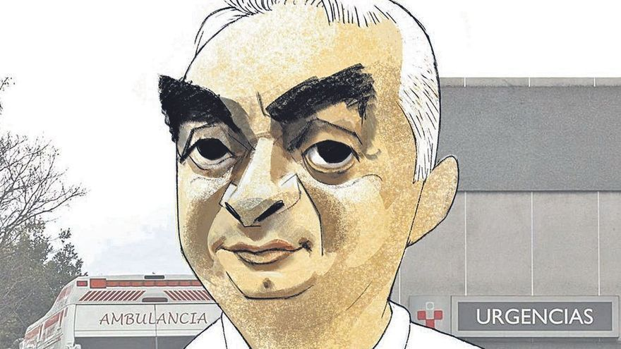 Herminio Martín, jefe de Urgencias en Cabueñes: La calma en el reino de los sobresaltos