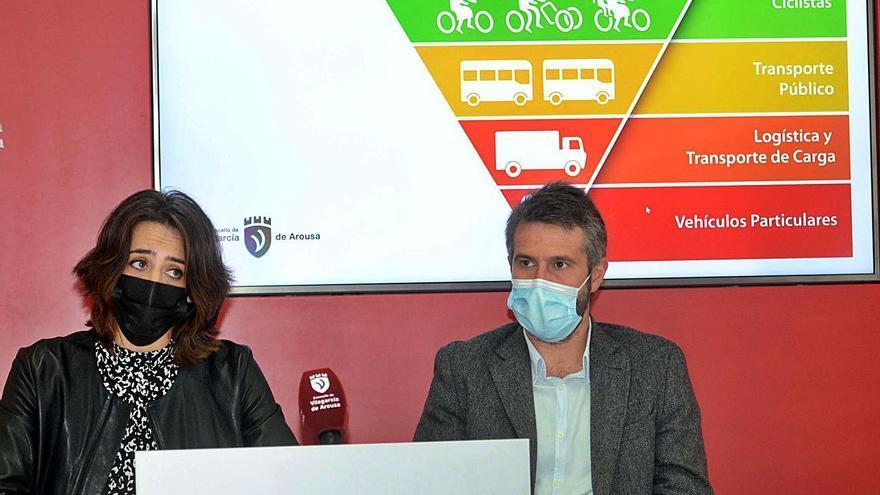La ciclovía de Vilagarcía suprime 140 aparcamientos entre O Piñeiriño y As Carolinas