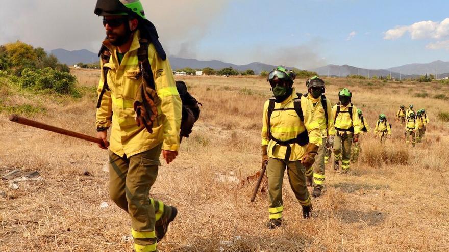 El cambio climático está detrás de la virulencia del incendio de Sierra Bermeja