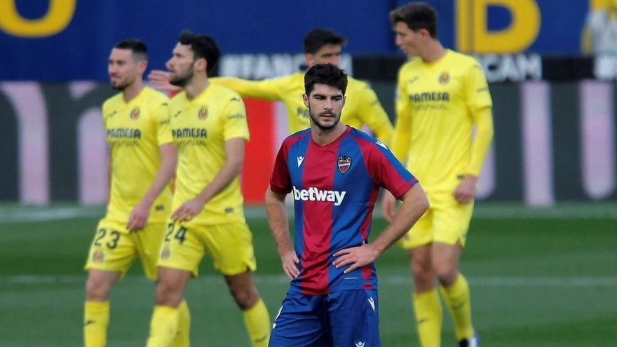 El Villarreal amarra los tres puntos ante el Levante en un choque de alternativas