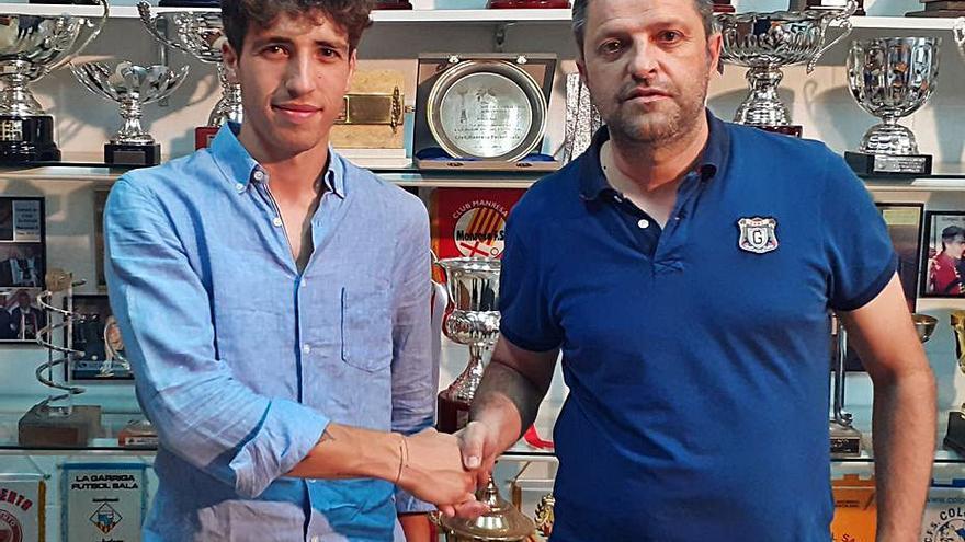 El porter Condominas fitxa pel Manresa FS