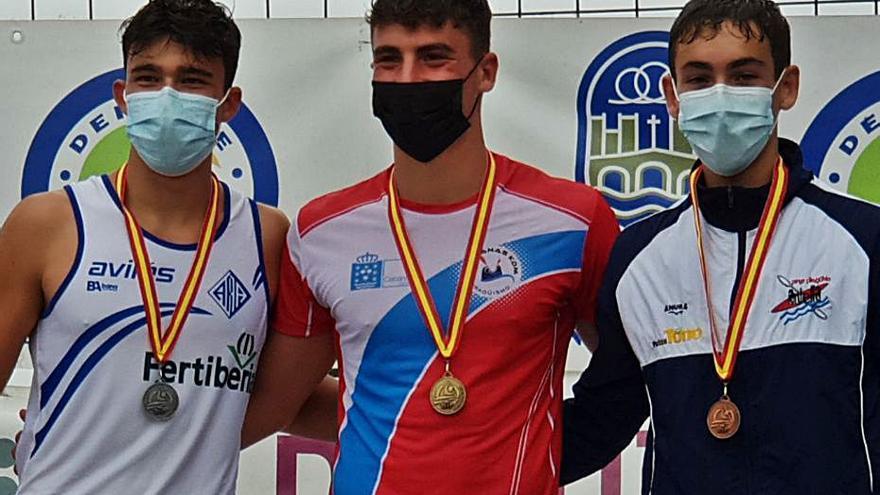 Vicent Esteve gana el bronce en el nacional de maratón corto