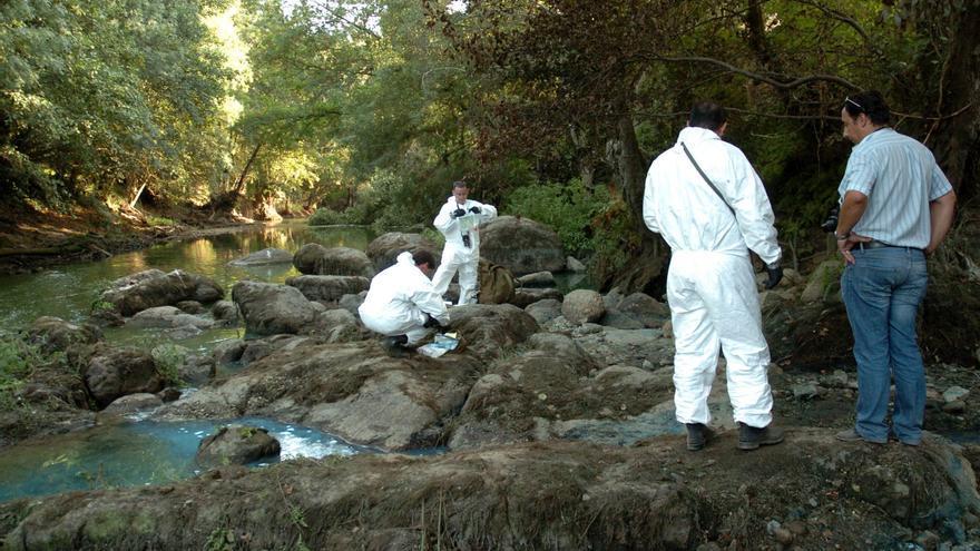 Brenntag, el vertido que colapsó el Umia y mostró los problemas del río