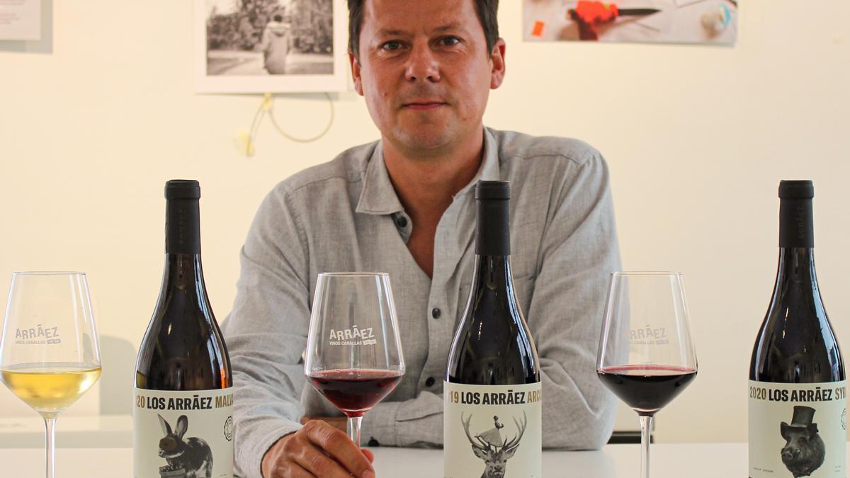 Toni Arráez ha presentado esta semana las nuevas añadas de la gama de vinos 'Los Arráez'