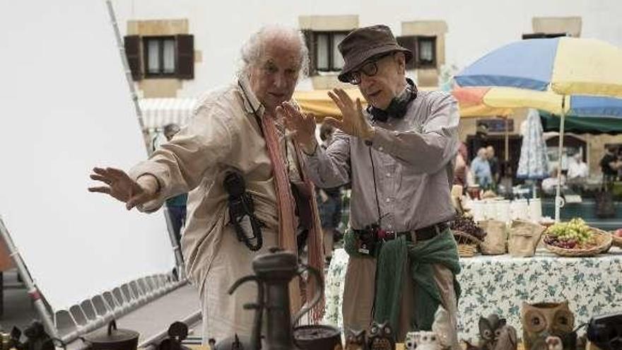 """El filme que Allen rodó en San Sebastián ya tiene título: """"Rifkin's Festival"""""""