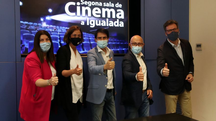 Igualada obrirà una segona sala de cinema a finals d'any