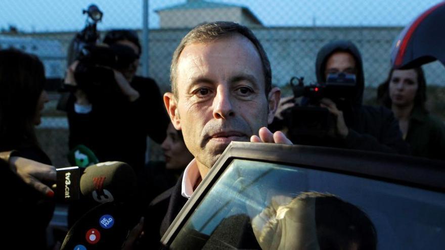 Rosell: «Intentaré influir en les eleccions del Barça»