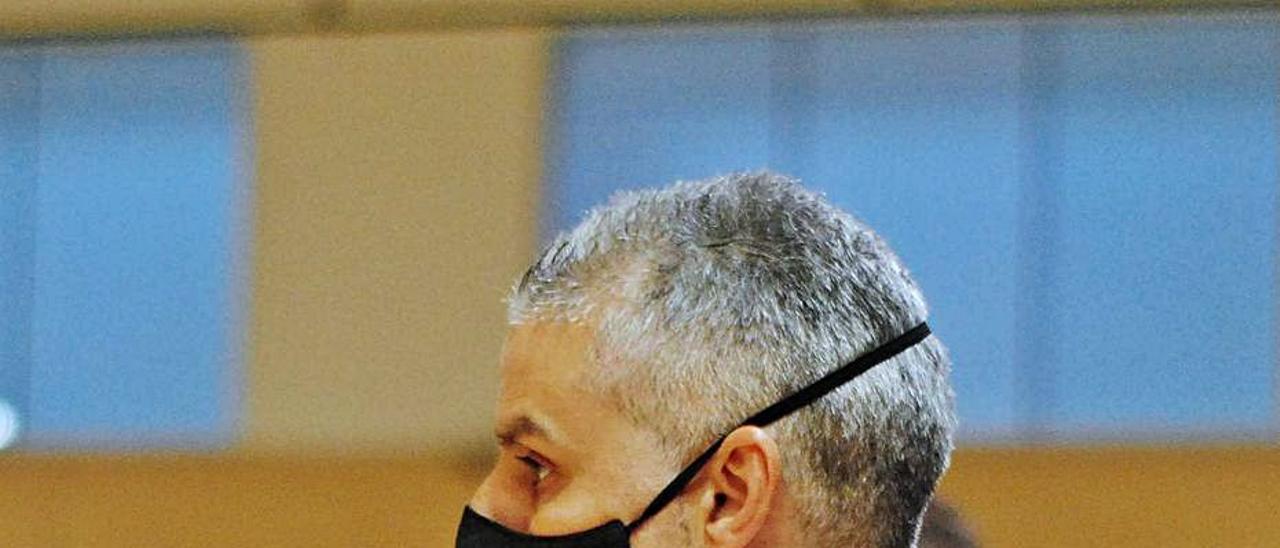 El entrenador del Alzira FS, Braulio Correal.   RAÜL AMAT