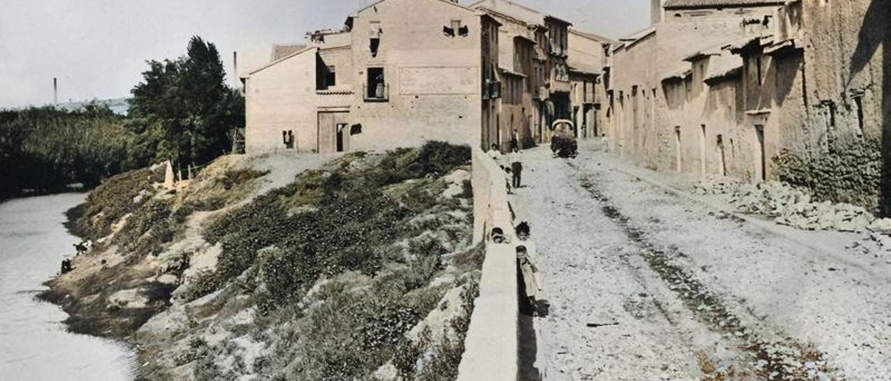 L'actual carrer de Santa Teresa era conegut com carrer Nou.   LEVANTE-EMV