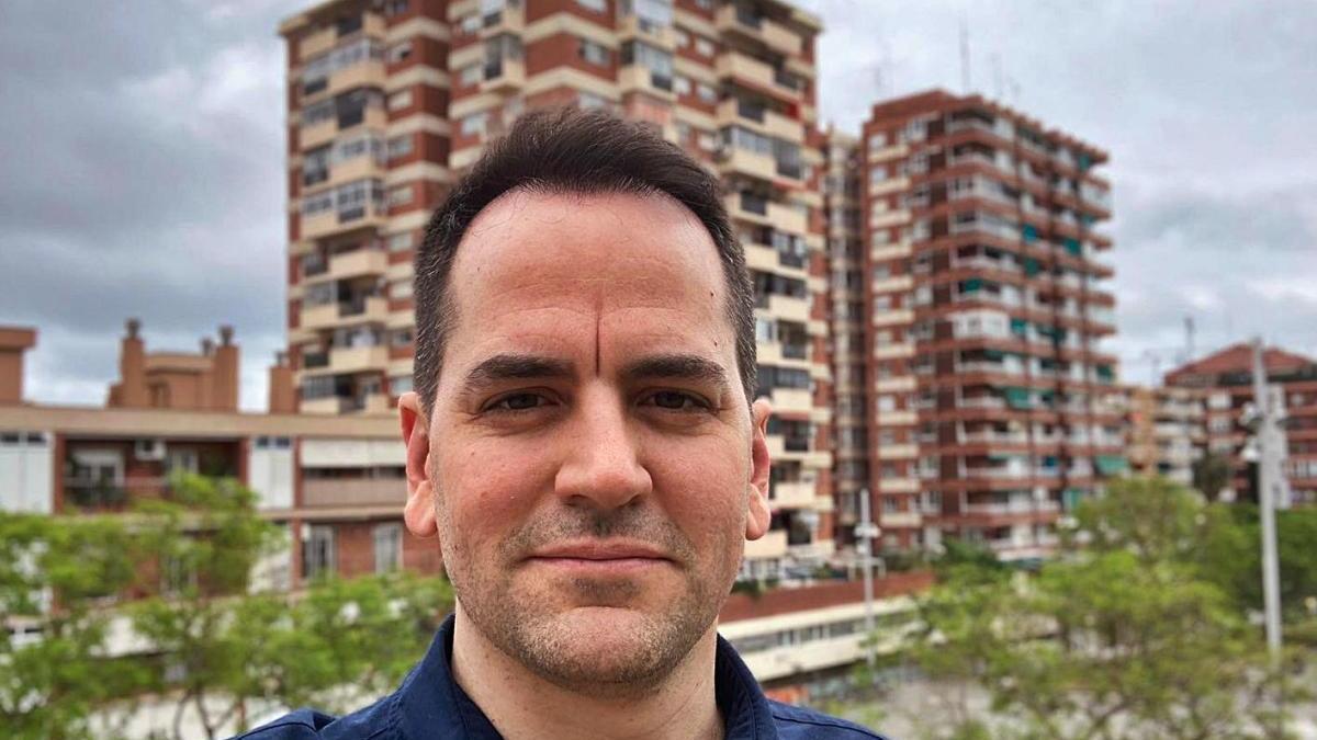 Marc Serena en una imatge durant el confinament, la primavera passada