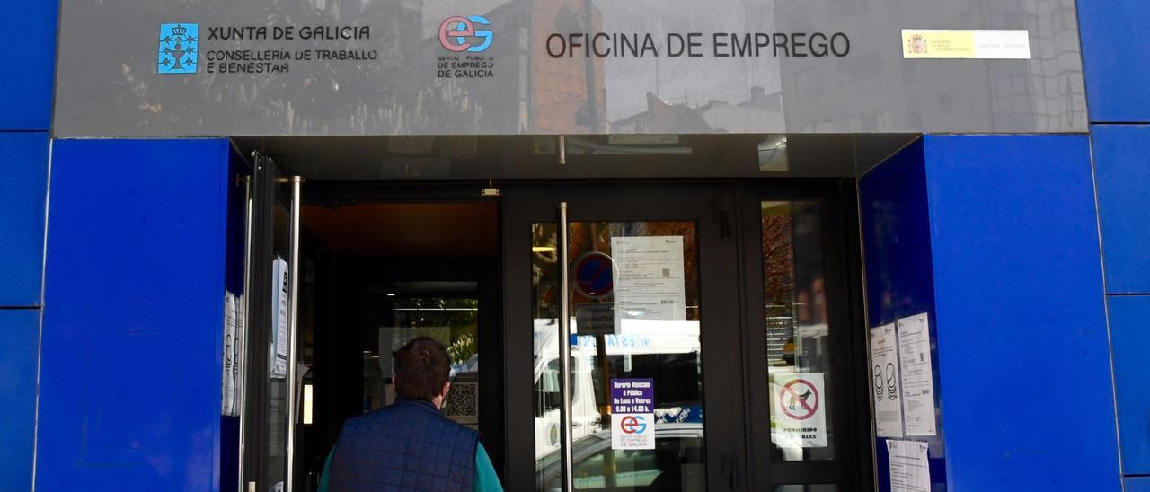 Oficina de Emprego en Galicia. // Carlos Pardellas
