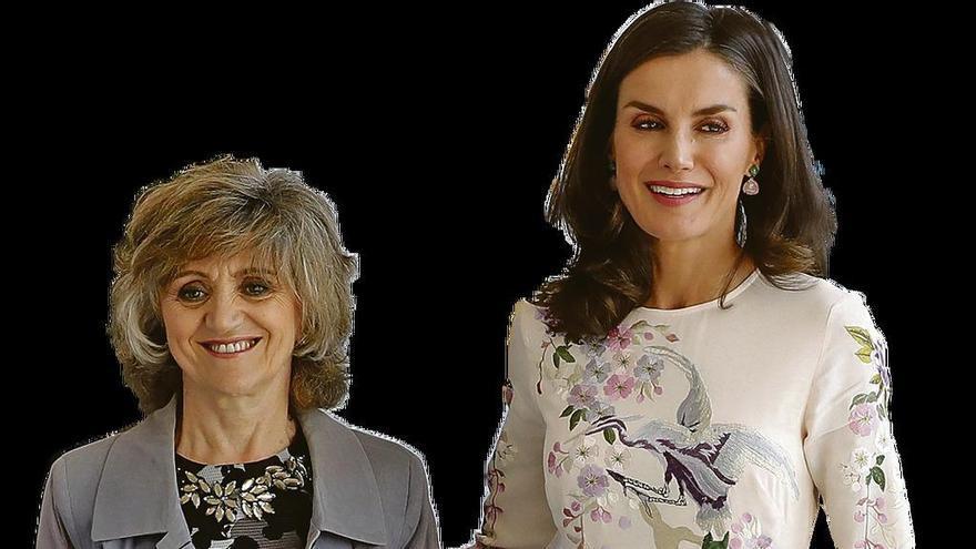 La Reina y la ministra de Sanidad unen fuerzas contra la enfermedad mental