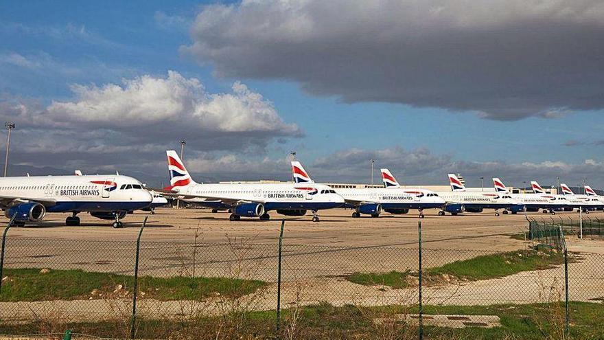 British Airways macht den Flughafen Palma de Mallorca zum Parkhafen