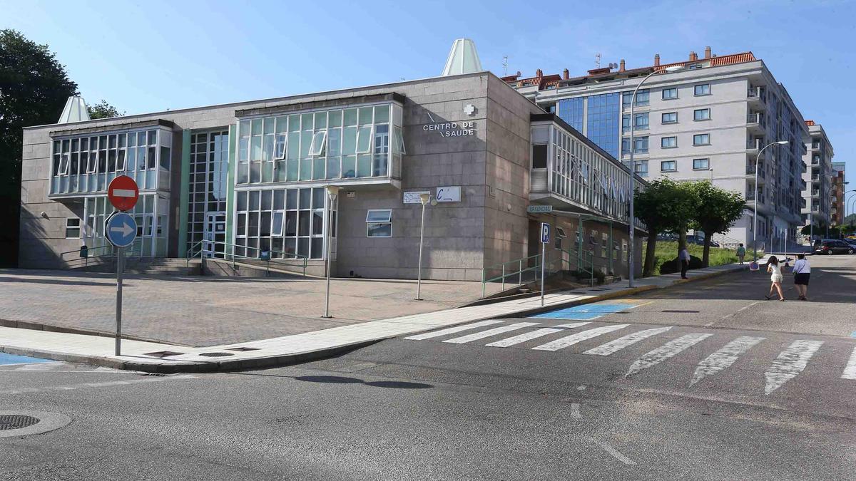 El centro de salud de Porriño, que la Xunta prevé ampliar.