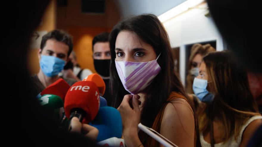 Irene Montero duda de que el PP reúna apoyos para investigar a Podemos