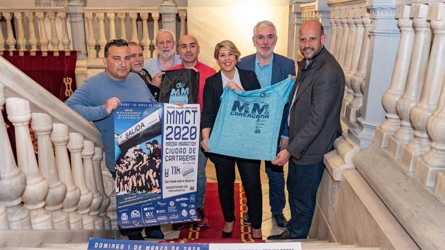 La Media Marathon de Cartagena, con récord de participación femenina