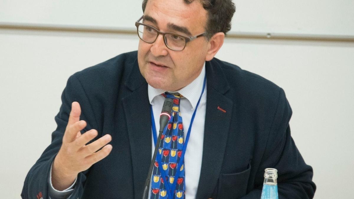 El director de la Agencia de Calidad y Prospectiva Universitaria de Aragón (ACPUA), Antonio Serrano.