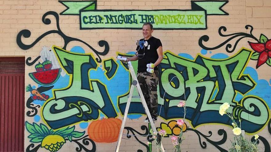 Grafiti y rap contra el acoso escolar en Elche