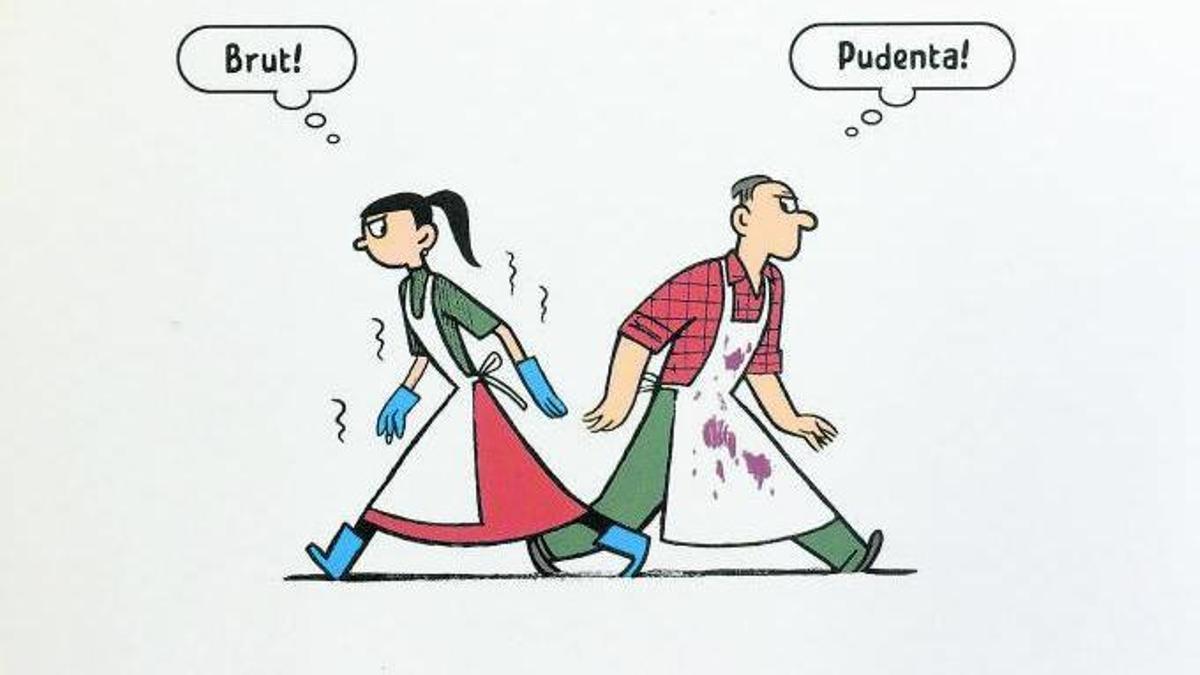 Portada de la publicación 'Trobades i rialles', editada por el sello Disset.
