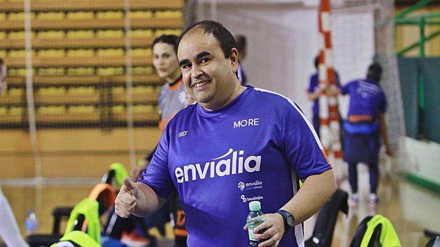 El Ourense Envialia asciende a su primer equipo a la canterana Nerea Lorenzo