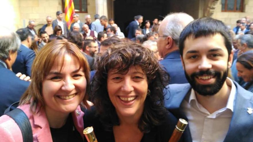 El president Quim Torra rep alcaldes i regidors de l'Alt Empordà al Palau de la Generalitat