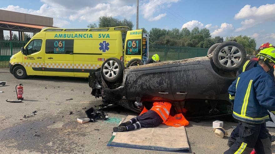 El 70% de las muertes de tráfico en Huesca son por distracciones