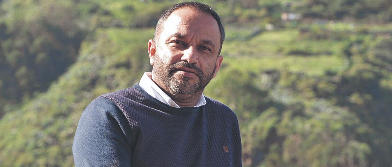 El alcalde de Moya, Raúl Afonso.