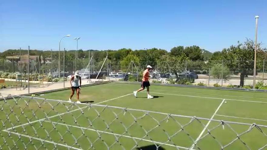 Angelique Kerber trainiert in Santa Ponça