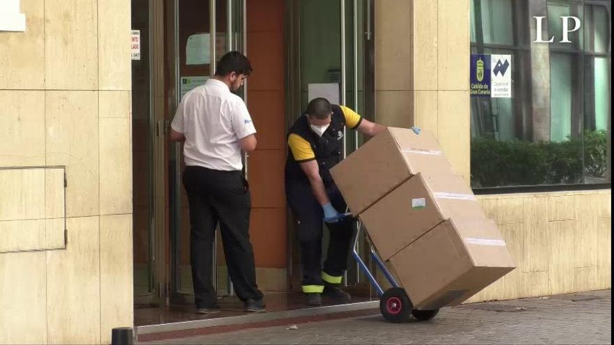 Coronavirus en Canarias| Mascarillas para transportistas