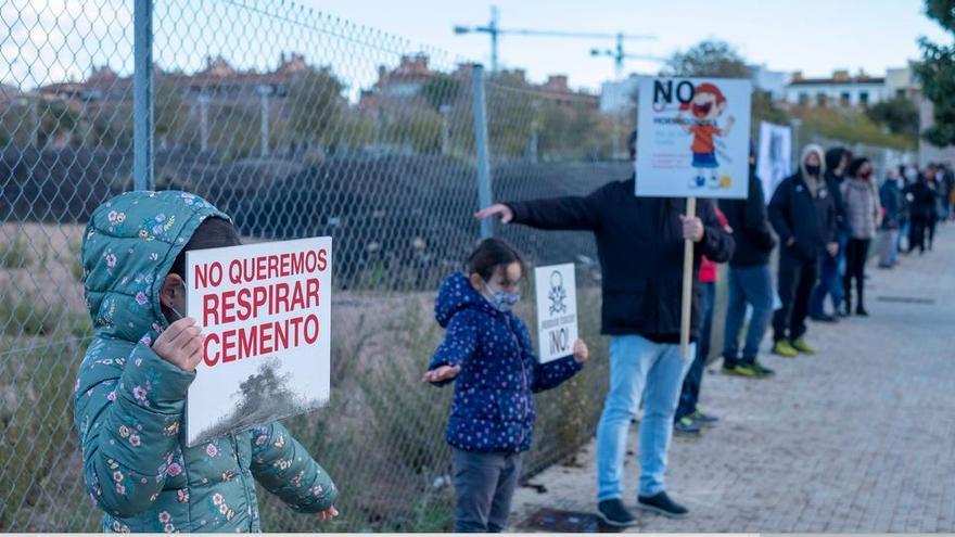 Satisfacción en Son Güells por la denegación de la licencia a la hormigonera