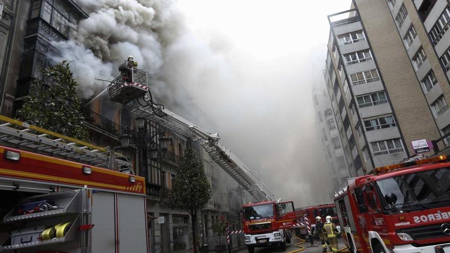 El Juzgado archiva la investigación del incendio de Uría
